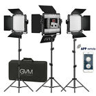 Kyпить GVM Bi-Color LED Photography Video Studio Lighting Kit Panel Tripod Wireless APP на еВаy.соm
