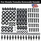 US Motorcycle Complete Fairing Bolts Screws Kit Well Nuts For Yamaha YZF R1 R6 $21.99 USD on eBay