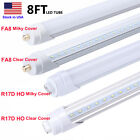 8FT R17D HO LED Bulbs 6000K FA8 Single Pin 45W F96T12 T8 8 Foot LED Tube Light