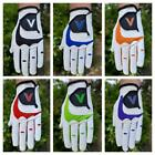 6 Men's Golf Gloves Different Colours All Weather Right Handed Golfer LH Glove