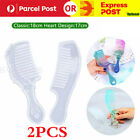 1/2pc Silicone Comb Jewelry Making Mold Resin Epoxy Mould Casting Handmade Craft