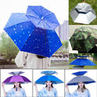 Umbrella Hat Sun Shade Golf Camping Fishing Hiking Outdoor Foldable Headwear Cap