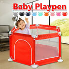 6 Sided Baby Playpen Play Kids Safety Yard Center Outdoor Fence Indoor Pool Ball