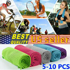 Ice Towel Enduring Instant Cooling Towel Heat Relief Chill Cool Towel Cold towel image
