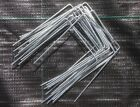 GROUND COVER STAPLES GALVANISED METAL PINS FOR WEED CONTROL MEMBRANE GRASS PINS