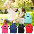 Mummy Maternity Nappy Diaper Bag Waterproof Baby Large Travel Backpack Handbag
