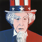 Uncle Sam (Myths) 1981 by Andy Warhol - Poster Wall Art