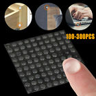 100pcs Self Adhesive Silicone Rubber Cabinet Door Pad Bumper Stop Damper Cushion