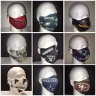 NFL Team Face Mask - 100% cotton W/ PM2.5 Filter Included $12.5 USD on eBay