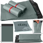 Grey Mailing Bags Strong Packing Poly Postal Postage Post Mail Self 13