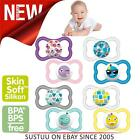 MAM Air Soother│BPA Free Multi Design│Baby's Pacifier│Kid's Dummies│12m+│2pk
