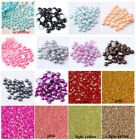 Kyпить Polished Half Pearls  Bead Flat Back scrapbook craft 2,3,4,5,6,8,10,12,14mm #1 на еВаy.соm