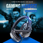 OVLENG P3 3.5mm Gaming Headset Surround Stereo Headphone MIC for PC Laptop O7Y2
