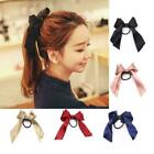 Ribbon Rope Cute Hair Ties Bow Elastic Hair Band Girl Hair Accessories Scru J3g8