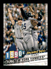 2020 Topps Series 2 DECADES' BEST Singles Base & BLUE  Complete Your SetBaseball Cards - 213