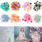 Mixed Colors Filling Balloons Party Decorations Confetti Tissue Paper Round
