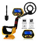 Deep Ground Metal Detector Gold Finder LCD Display with Waterproof Search Coil//