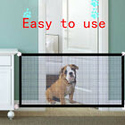 Safety Gate Pet Dog Baby Mesh Fencing Portable Guards Indoor Kitchen Home NetTEU