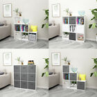 White 6/9 Cube Bookcase Shelving Unit Display Storage Wooden Shelf Home Office