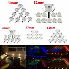 1-50x Wifi Remote Control APP RGB LED Decking Lights Garden Stair Lighting Lamps