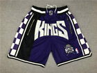 Sacramento Kings Shorts Purple and Black All Stitched on eBay