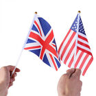 Britain UNION Home Decoration Banners Hand Waving Flags American Flag UK Flag