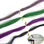 100 Root/bundle Holographic Tinsel String Jig Hook S4h6 Fishing Lure W3g1