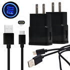 Wall Car Cell Phone Charger Type C USB Cable for Moto G7 Power Z4 G6 Plus M One