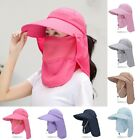 1*Breathable Sun Hat Brim Ear Neck Cover Flap Cap Outdoor Hiking Garden Fishing