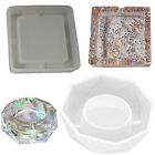 Resin Flower Container Ashtray Silicone Mold Food Grade Silicone Mirror Ashtray