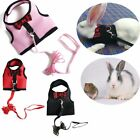 Durable Rabbit Lead Wire Rope Traction Clothes Pet Harness Leash Chest Strap