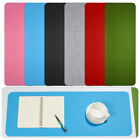 Office Wool Felt Laptop Cushion Computer Desk Mat Table Keyboard Mouse Pad