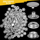 Snap Fasteners Press Studs Stainless Steel Button DIY Marine Boat Canvas Leather