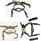 Tactical Helmet fixed hanging strap hang  spongy pad cushion For WENDY