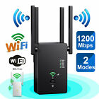 AC1200 Wireless WiFi Repeater Extender Booster Router Dual Band 2.4G/5G 867Mbps