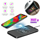 10W Qi Wireless Charger Fast Charging Dock Pad Mat For Samsung iPhone Universal