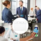 Clear Plastic Id Badge Card Plastic Wallet Pocket Holder Portable X5b5 Y5h8