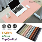 Large Office Computer Desk Mat Game Keyboard Mouse Table Pad Soft Cushion HOT