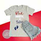 4th Of July Pregnancy Announcement Shirt, 4th Of July Shirt, Patriotic Shirt, Am