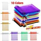 10 Colors Gift Bags Wedding Jewellery Candy Pouches Au