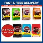 Douwe Egberts Senseo Coffee Pods Capsules 144 Pack - 7 Flavours Available