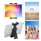 Universal Tripod Mount Adapter Stand Holder Bracket Clamp For Tablet iPad iPhone