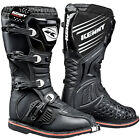 Neu Kenny Racing Track Motocross Enduro ATV Stiefel Schwarz Moto Adventure
