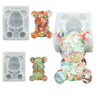 3D Resin Silicone Mould Cute Bear DIY Craft Jewelry Pendant Mold Making Tool