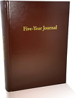 Hard Cover 5 Year Journal   The Easiest to Use Five Year Journal   Quick and Eas