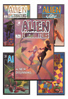 1985 Eclipse Comics Alien Encounters Issues 1,2,3,4,5,6,7,8,9 (VF-NM) image