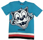 Genuine Aqua Smiling Fox T-Shirt