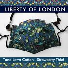Kyпить Liberty of London Face Mask-Strawberry Thief floral Tana Lawn-nose wire-cloth на еВаy.соm