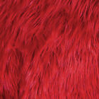FabricLA Faux Fur Fabric Textile Squares - Primary Colors for Craft & Decor