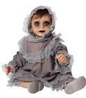 Baby Toddler Boys Girls Victorian Doll Spooky Halloween Costume 6months-3yrs